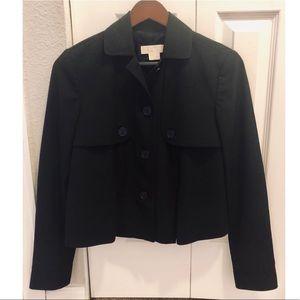 Michael Kors Black Cropped Blazer Jacket
